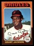 1975 Topps Mini #303  Grant Jackson  Front Thumbnail