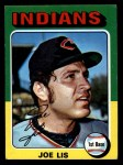 1975 Topps Mini #86  Joe Lis  Front Thumbnail