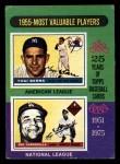 1975 Topps Mini #193   -  Yogi Berra / Roy Campanella 1955 MVPs Front Thumbnail