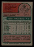 1975 Topps Mini #426  Doc Medich  Back Thumbnail