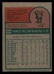 1975 Topps Mini #504  Buddy Bradford  Back Thumbnail