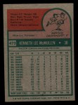 1975 Topps Mini #473  Ken McMullen  Back Thumbnail