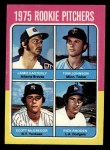 1975 Topps Mini #618   -  Jamie Easterly / Tom Johnson / Scott McGregor / Rick Rhoden Rookie Pitchers Front Thumbnail