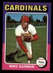 1975 Topps Mini #584  Mike Garman  Front Thumbnail