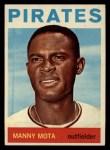1964 Topps #246  Manny Mota  Front Thumbnail