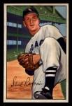 1952 Bowman #165  Saul Rogovin  Front Thumbnail