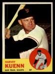1963 Topps #30  Harvey Kuenn  Front Thumbnail