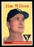 1958 Topps #163  Jim Wilson  Front Thumbnail