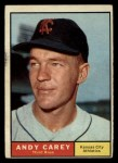 1961 Topps #518  Andy Carey  Front Thumbnail