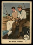 1959 Fleer #67   -  Ted Williams / Sam Snead Two Famous Fishermen Front Thumbnail