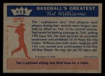 1959 Fleer #15   -  Ted Williams  Licks the Sophomore Jinx Back Thumbnail