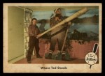 1959 Fleer #79   -  Ted Williams Where Ted Stands Front Thumbnail