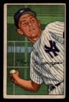 1952 Bowman #109  Tom Morgan  Front Thumbnail