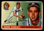 1955 Topps #81  Gene Conley  Front Thumbnail