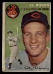 1954 Topps #15  Al Rosen  Front Thumbnail