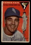1954 Topps #27  Ferris Fain  Front Thumbnail