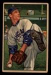 1952 Bowman #16  Omar Lown  Front Thumbnail
