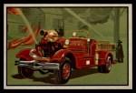 1953 Bowman Firefighters #63   Modern Pumping Engine - Ahrens Fox Front Thumbnail