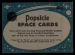 1963 Topps Astronaut Popsicle #17   Back from Space Back Thumbnail