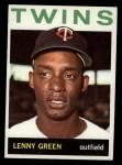1964 Topps #386  Lenny Green  Front Thumbnail