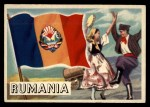1956 Topps Flags of the World #31   Rumania Front Thumbnail