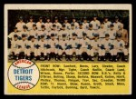 1958 Topps #397 ^ALP^  Tigers Team Checklist Front Thumbnail
