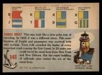1955 Topps Rails & Sails #141   Canal Boat Back Thumbnail