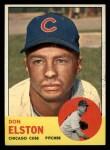 1963 Topps #515  Don Elston  Front Thumbnail