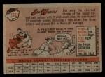 1958 Topps #163  Jim Wilson  Back Thumbnail