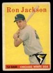1958 Topps #26  Ron Jackson  Front Thumbnail