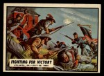 1962 Topps Civil War News #74   Fighting for Victory Front Thumbnail