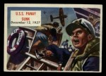 1954 Topps Scoop #105   U.S.S. Panay Sunk Front Thumbnail