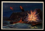 1954 Bowman U.S. Navy Victories #5   Destroyed Albemarle by Torpedo Front Thumbnail