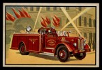 1953 Bowman Firefighters #33   Modern High Pressure Fog Unit Front Thumbnail