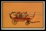 1953 Bowman Firefighters #48   1850 Squirrel Tail Engine Front Thumbnail