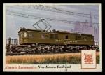 1955 Topps Rails & Sails #70   Electric Locomotive Front Thumbnail