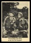 1965 Fleer Gomer Pyle #51   Do You Always Turn Green Front Thumbnail