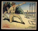 1941 Gum Inc. Uncle Sam Home Defense #88   Pitching Hand Grenades Front Thumbnail