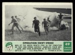 1966 Philadelphia Green Berets #49   Operation Swift Strike Front Thumbnail