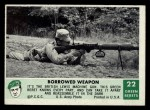 1966 Philadelphia Green Berets #22   Borrowed Weapon Front Thumbnail