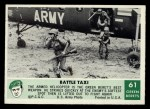 1966 Philadelphia Green Berets #61   Battle Taxi Front Thumbnail