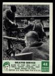 1966 Philadelphia Green Berets #48   Delayed Service Front Thumbnail