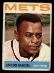 1964 Topps #129  Amado Samuel  Front Thumbnail