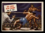 1954 Topps Scoop #40   -  Joe Louis Joe Louis New Champ Front Thumbnail