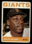1964 Topps #350  Willie McCovey  Front Thumbnail
