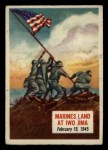 1954 Topps Scoop #36   Marines Land At Iwo Jima  Front Thumbnail