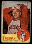 1963 Topps #116  Jim Brosnan  Front Thumbnail