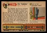 1955 Topps Rails & Sails #76   The Sandusky Back Thumbnail