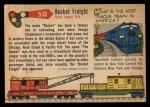 1955 Topps Rails & Sails #50   Rocket Freight Back Thumbnail