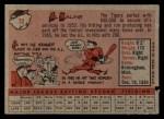 1958 Topps #70 YN Al Kaline  Back Thumbnail
